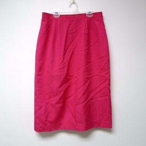 Worthington women's pink pencil skirt